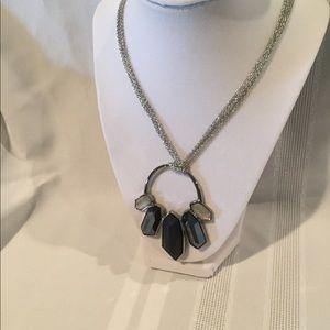 "Jewelry - Simply Vera Vera Wang 30"" Silvertone Necklace"